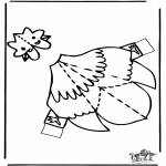 Manualidades - Maqueta de pollo