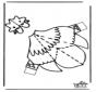 Maqueta de pollo
