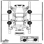 Manualidades - Maqueta de Porsche