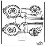 Manualidades - Maqueta de tractor