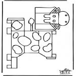 Manualidades - Maqueta de vaca 1