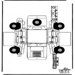 Manualidades - Maqueta del todoterreno Hummer