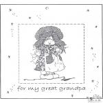 Manualidades - Marco de fotos para el abuelo