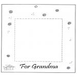 Manualidades - Marco de fotos para la abuela