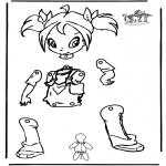 Manualidades - Marioneta de Winx