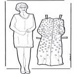 Manualidades - Mariquita de abuela