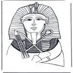 Diversos - Máscara mortuoria del faraón