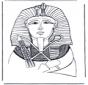 Máscara mortuoria del faraón