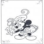 Personajes - Mickey y el mono