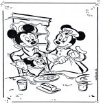 Personajes - Mickey y Minnie