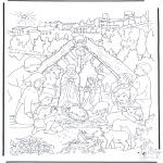 Navidad - Mirando el portal