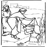 Dibujos de la Biblia - Moisés 2