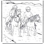 Animales - Montar a caballo 1