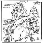 Animales - Montar a caballo 4