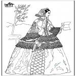 Diversos - Mujer con una carta