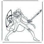Personajes - Narnia 5