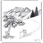 Invierno - Nieve en Yellowstone 2