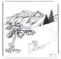 Nieve en Yellowstone 2