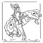 Animales - Niña a caballo 2