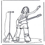 Diversos - Niña con guitarra