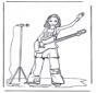 Niña con guitarra
