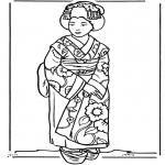 Diversos - Niña japonesa