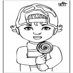 Dibujos Infantiles - Niño 1