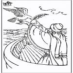 Láminas de la Biblia - Noé 3