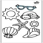 Diversos - Objetos de verano