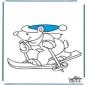 Osito Esquiador
