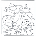 Dibujos Infantiles - Oso Amoroso 1