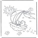 Dibujos Infantiles - Oso Amoroso 2