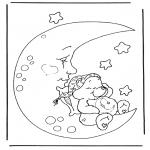 Dibujos Infantiles - Oso Amoroso 4