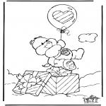 Dibujos Infantiles - Oso Amoroso 5