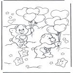 Dibujos Infantiles - Oso Amoroso 7