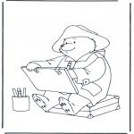 Dibujos Infantiles - Oso Paddington 1