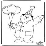 Dibujos Infantiles - Oso Paddington 3