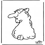 Animales - Ovejita 2