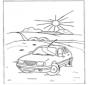 Paisaje con coche