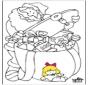 Papá Noel - Dibujos 1