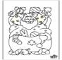 Papá Noel - Dibujos 2
