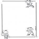 Manualidades - Papel de cartas con niños 1
