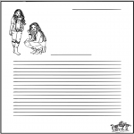 Manualidades - Papel de Cartas de High School Musical
