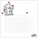 Temas - Papel de Cartas de San Valentín