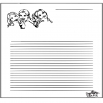 Manualidades - Papel de cartas K3