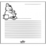 Manualidades - Papier à lettres - Bumba