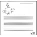 Manualidades - Papier à lettres - Cenicienta