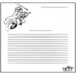 Manualidades - Papier à lettres - Harry Potter