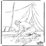 Dibujos de la Biblia - Parábola de los Talentos
