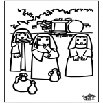 Manualidades - Pascua Dibujo para Ventana